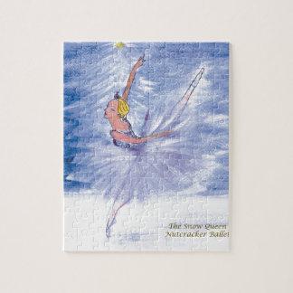 Twitt Snow Queen-Nutcracker Ballet by Marie L Puzzle