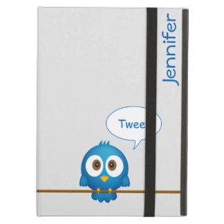 Twitter bird cartoon iPad air cases