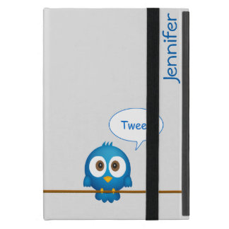 Twitter bird cartoon iPad mini cases