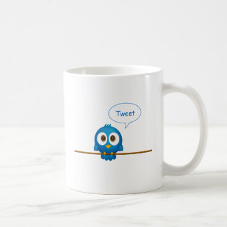 Twitter bird coffee mug