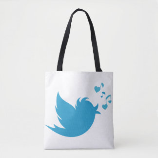 **TWITTER BIRD*** TOTE FOR THAT SPECIAL TWITTER-ER