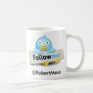 Twitter Coffee Cup 3 Classic White Coffee Mug