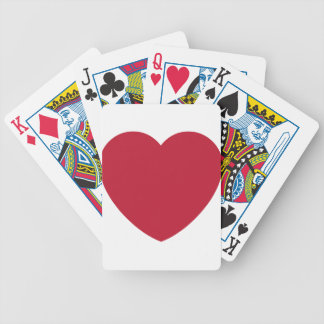 Twitter Coils Heart Emoji Bicycle Playing Cards