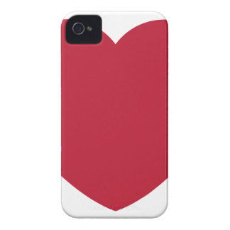 Twitter Coils Heart Emoji iPhone 4 Case-Mate Case