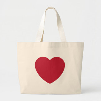 Twitter Coils Heart Emoji Large Tote Bag
