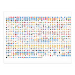 Twitter Emoji (Twemoji) Carte Postale