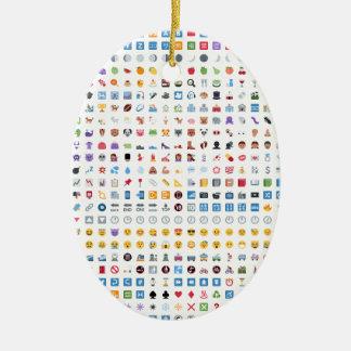 Twitter Emoji (Twemoji) Ceramic Ornament