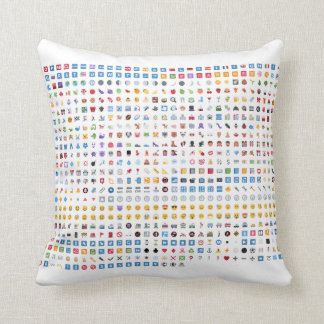 Twitter emojis pillow