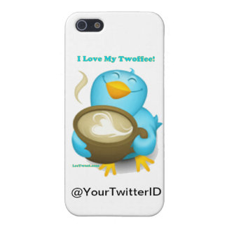 Twitter ID I Love My Twoffee Gifts Apparel Case For The iPhone 5