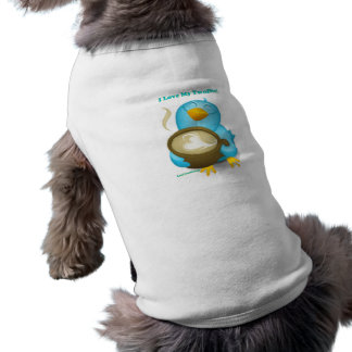 Twitter ID I Love My Twoffee Gifts Apparel Dog T-shirt