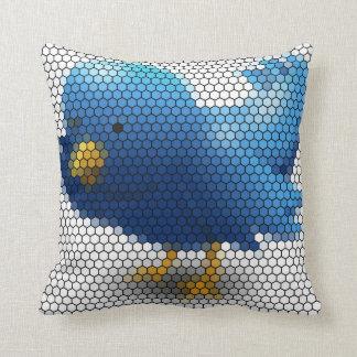 Twitter Little Bird Throw Pillow