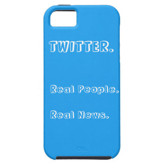 Twitter Real People Real News Iphone 5/5S Case