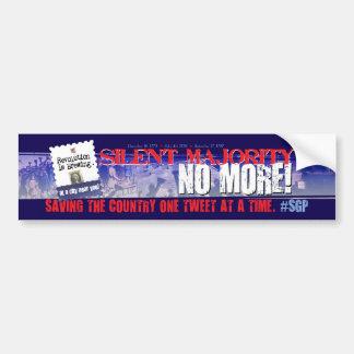 Twitter #sgp Bumper Sticker