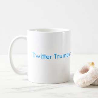 Twitter Trumps a Press Conference Classic Mug