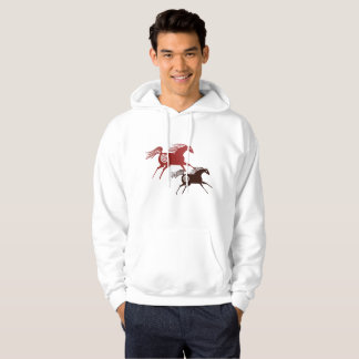 Two Ancient Horses Hoodie