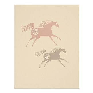 Two Ancient Horses Letterhead