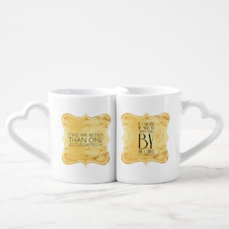 Two are better than one coffee mug set