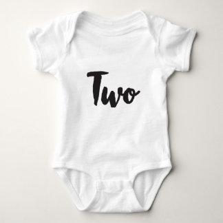 Two Baby Bodysuit