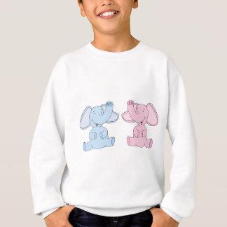 Two Baby Elephants Sweatshirt