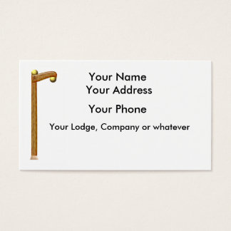 Two Ball Cane Business Card