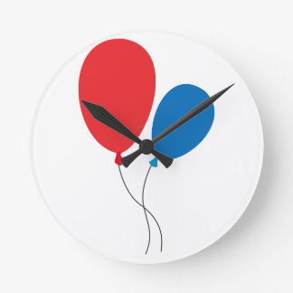 Two Ballons Wall Clock