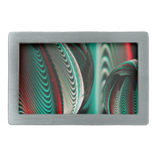Two Balls reflections in glass balls Rectangular Belt Buckle