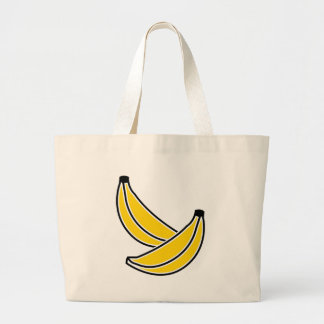 two-bananas large tote bag