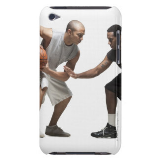 Two basketball players 2 iPod Case-Mate cases