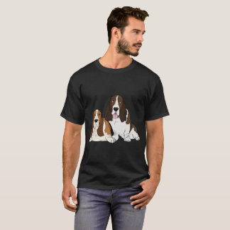 Two Basset Hounds T-Shirt