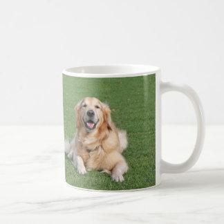 Two beautiful golden retrievers coffee mug