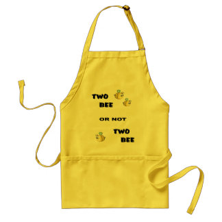 Two Bee or not Two Bee Standard Apron