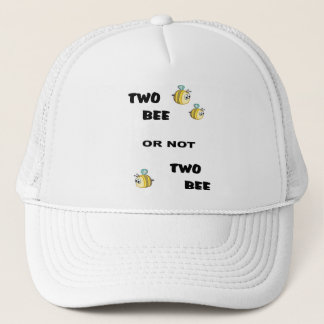 Two Bee Trucker Hat