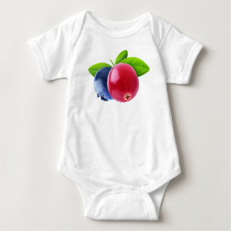 Two berries baby bodysuit