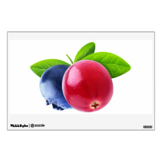 Two berries wall sticker