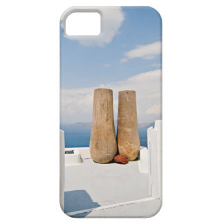 Two big pots on Santorini island iPhone 5 Cover
