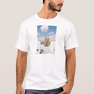 Two big pots on Santorini island T-Shirt