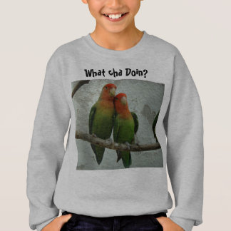 Two Bird Conures Sweatshirt