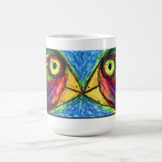 Two Birds Classic White Coffee Mug