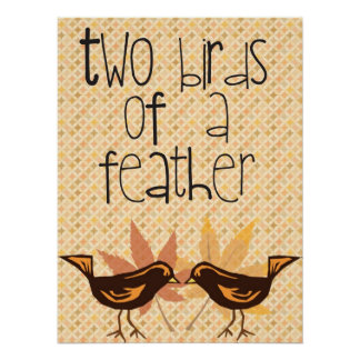 Two Birds Posters