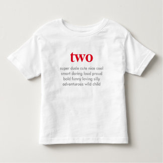 two birthday shirt