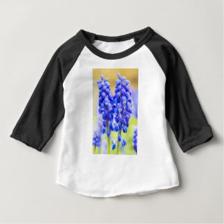 Two blue grape hyacinths in spring baby T-Shirt