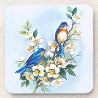 Two Bluebirds Coasters