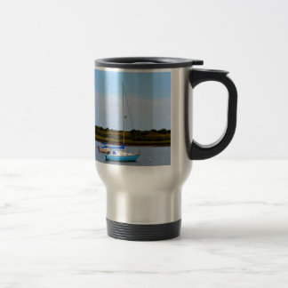 Two Boats 15 Oz Stainless Steel Travel Mug