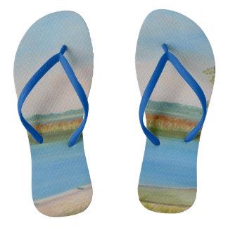 TWO BOATS Flip Flops