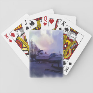 Two Boats Poker Deck