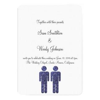 Two Boys Wedding Card