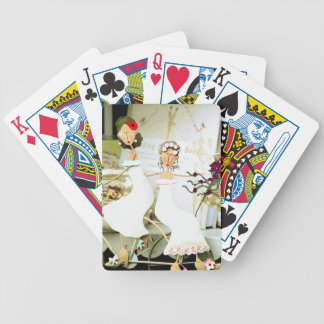 Two Brides Playing Cards