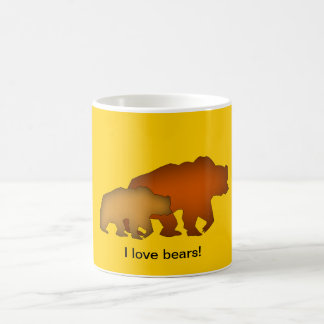 Two Brown Bears Mug