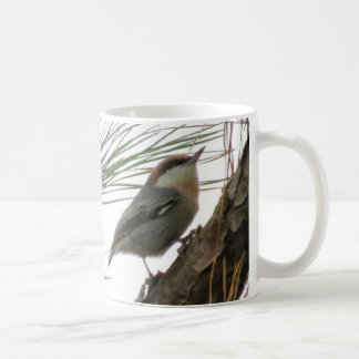 Two Brown-headed Nuthatches Coffee Mug