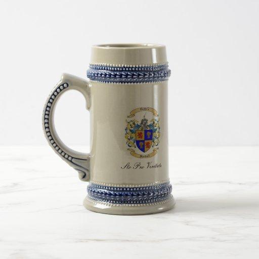 Two Bulldog Brand Guthrie Crest Classic Stein Coffee Mug